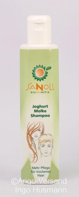 2 x 200 ml sanoll joghurt molke shampoo f r trockenes haar biokosmetik. Black Bedroom Furniture Sets. Home Design Ideas