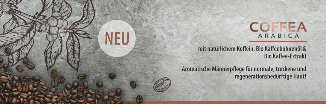 Coffea Arabica - Die Männerpflegeserie
