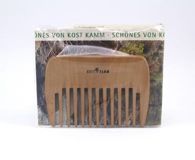 KostKamm: Strähnenkamm Holz 10 cm, extra grob