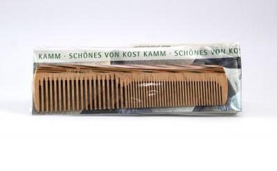 KostKamm: Frisierkamm, Holz, bunt 16 cm
