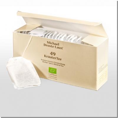 Michael Droste-Laux: 49-Kräuter-Tee Filterbeutel 25 Stck a 0,8g