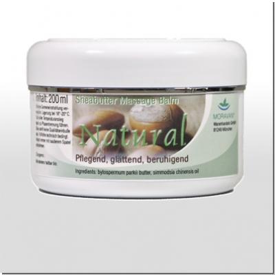 MORAVAN: Natural Sheabutter Massagebalm 200 ml