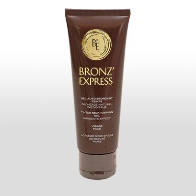 académie: bronzexpress getöntes Selbstbräunungsgel 75 ml