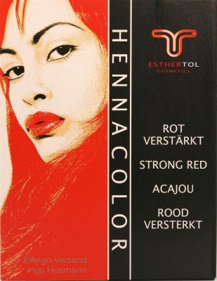TOL: Henna Pulver Rot verstärkt, 85 g