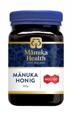 Manuka: Manuka Honig MGO(TM) 550+, 500 g