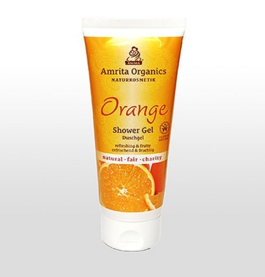 Amrita Organics: Duschgel Orange, 200 ml
