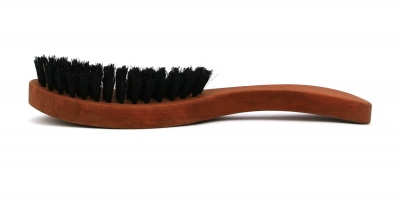 KostKamm: Haarpflegebürste, weiche 100% Wildschweinborste 7reihig