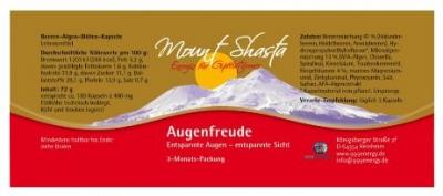 999energy: Mount Shasta Augenfreude 72g - 180 Kps.