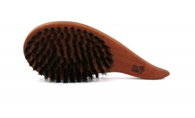 KostKamm: Haarpflegebürste Tropfenform, weiche Borsten