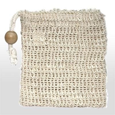 Seifensäckchen aus Sisal 11,5 x 13 cm