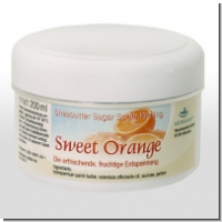 MORAVAN: Sweet Orange Sheabutter Sugar Scrub Peeling 200 ml