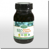 Sanatur: Bio Spirulina & Chlorella, 500 Tbl.
