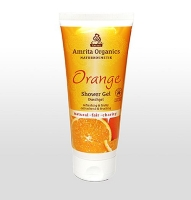Amrita Organics: Duschgel Orange, 200 ml