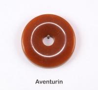 Edelstein-Donut Durchmesser 40mm