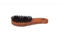 KostKamm: Haarpflegebürste, harte Wildschweinborsten, 7reihig