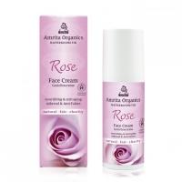 Amrita Organics: Rosen Gesichtscreme 50 ml
