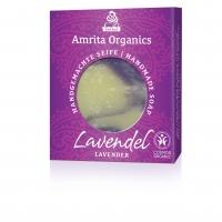 Amrita Organics: Seife Lavendel, 75 g