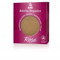 Amrita Organics: Seife Rose, 75 g