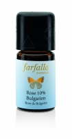 Farfalla: ätherisches Öl Rose Bulgarien 10%, 5 ml