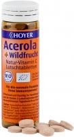 HOYER: Acerola + Wildfrucht Luschtabletten Bio 60 Stck., 30g