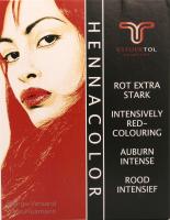 TOL: Henna Pulver Rot extra stark, 85 g